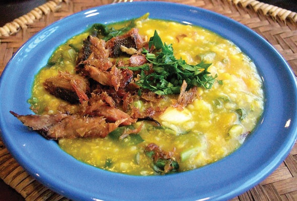 Tinutuan ~ Manadonese vegs porridge