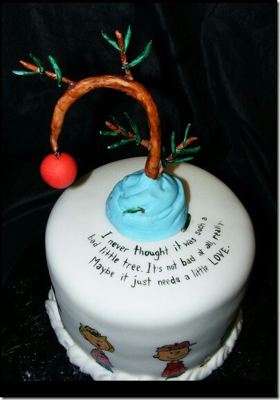 Christmas Cake Images With Quotes : 96 best Peanuts Cakes images on Pinterest Peanut cake ...