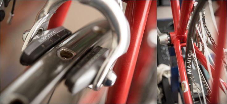 SB5794 1983 531c SBDU Ilkeston Mavic GP4 Wheel Rebuild Without Tubs