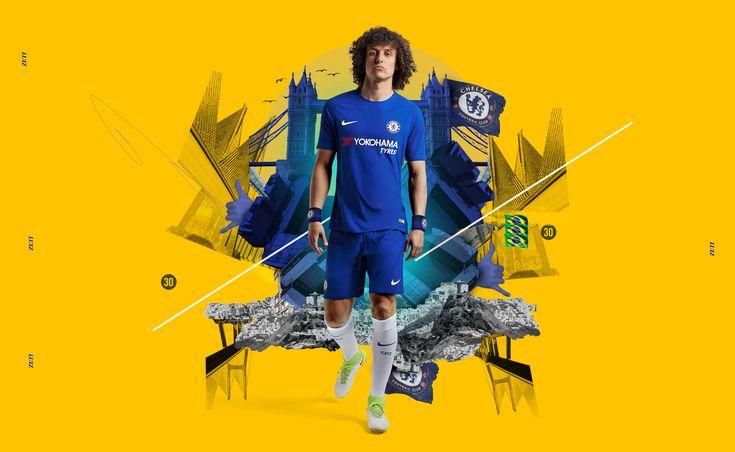 STUDIO BLUP ® | Award winning design agency LondonBLUP X CHELSEA FC & NIKE FOOTBALL - 2017/18 Kit Launch Campaign - STUDIO BLUP ® | Award winning design agency London