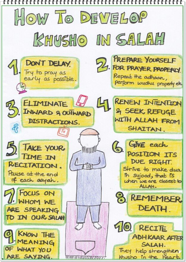 How to Develop Khusho in Salah