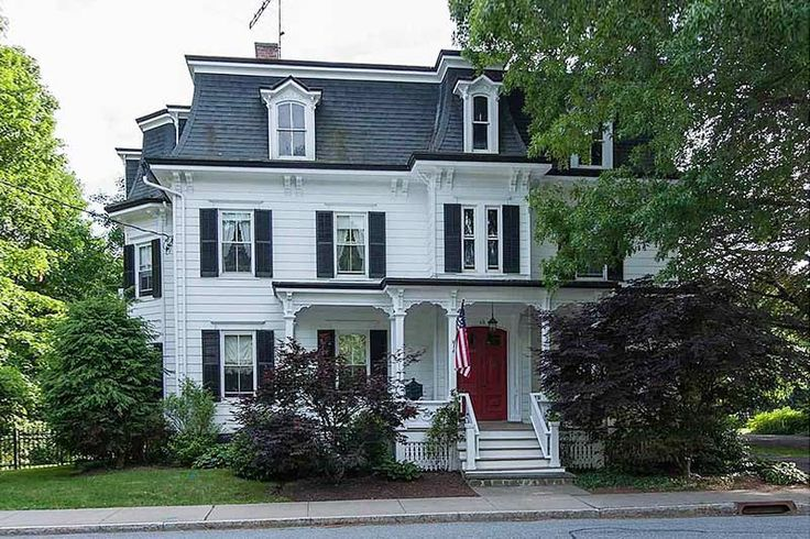 1000 images about second empire mansard roofs on for Mansard style homes