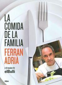 Durante todos los años de vida de elBulli, cada día se preparaba un menú para el equipo de cocina. Esta gran familia debía estar bien alimentada, con recetas variadas de productos frescos, que garantizaban energía y fuerza para que todos rindieran con ilusión en su trabajo.... http://www.imosver.com/es/libro/la-comida-de-la-familia_0010004336