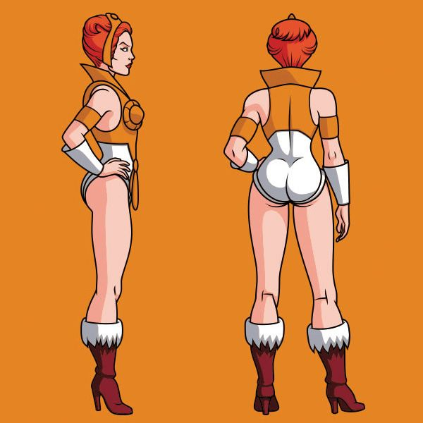 Master of The Universe Character Design.