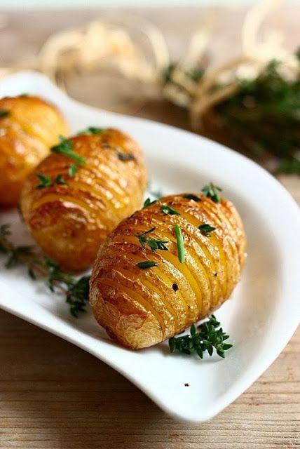 MIEL & RICOTTA: Patate al forno con timo