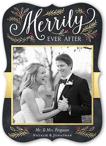 Merrily Ever After 5x7 Stationery Card by Stacy Claire Boyd