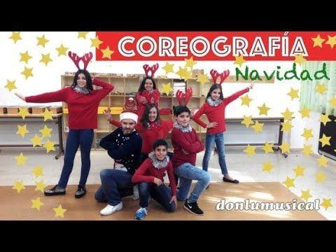 Baile de Navidad para niños Coreografía muy fácil - YouTube