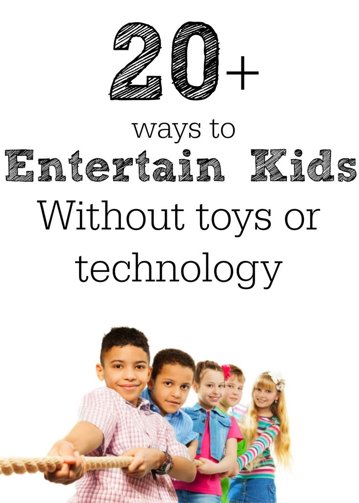 Great ideas for games and activities you can do with kids!