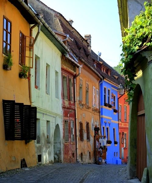 Old Sighișoara, Transylvania, Romania | by Werner -- Konrad