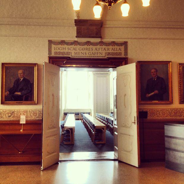 Danish Parliament at Christianborg Palace #Copenhagen