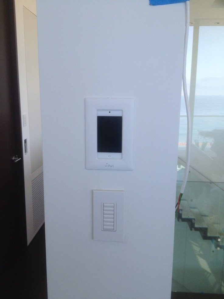 iPort CM-IW200 install with Lutron Keypad.