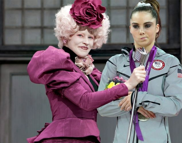 """A silver medal in the vault for American Olympic gymnast McKayla Maroney certainly wasn't good enough. And now it appears that McKayla Maroney is NOT impressed with much. A hilarious new blog has compiled the best of the """"McKayla is not impressed."""" internet memes. Check them out ... The odds of her winning gold at the Olympic women's vault were apparently NOT in her favor."""
