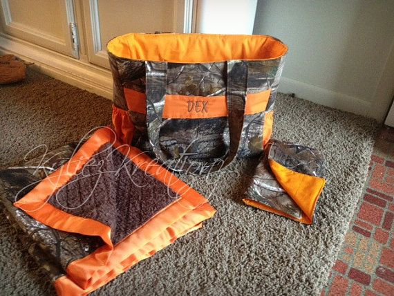 Hunting Camo Diaper bag Packages MADE TO ORDER by KyliezKreationz