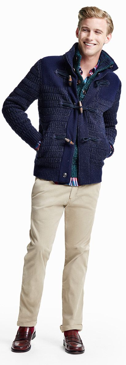 Tommy Hilfiger FW13 Lance Sweater, Ric Check Shirt, Madison Regular Fit  Chino, Andre