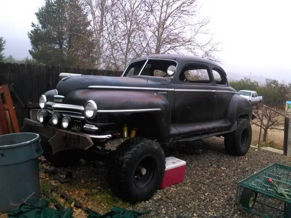 1946 Plymouth rat rod   Vehicular Poetry   Pinterest