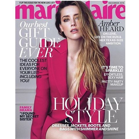 #MarieClaire US December/2015 #AmberHeard by #BoeMarion #fashioneditorial #covershot #magazine #models #fashion #style #stylish #instafashion #beauty #fashionissue #editorialdesign #makeup #magazines #inspiring #fashionphotography #mags #luxury #glamour #Interview #MarieClaireUS @marieclairemag