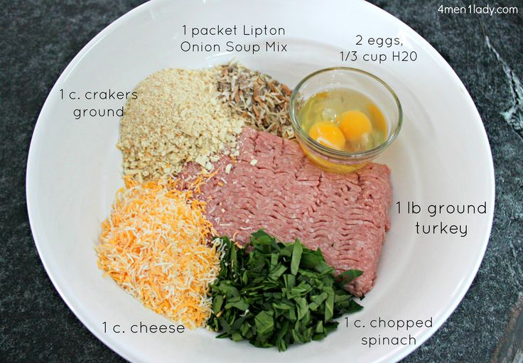 Turkey Meatloaf - will probably use Italian bread crumbs, egg whites, add onion, and use marinara instead of water