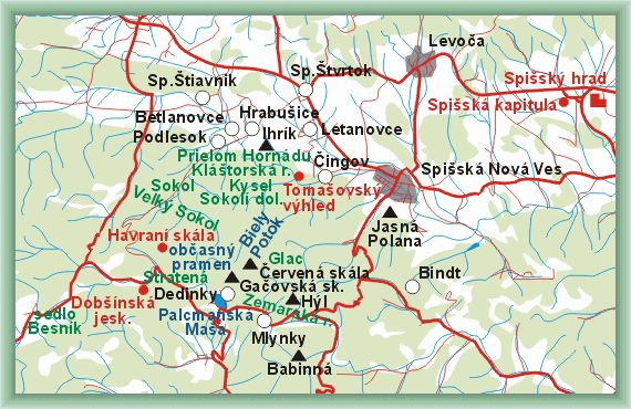 Slovak Paradise and Spiš - Guide of the area
