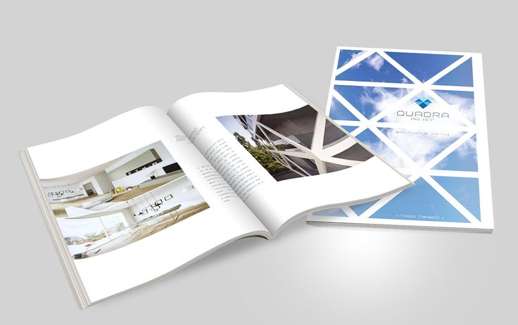 Quadra Palace on Behance by Endea #magazine #inspiration #brochure #cataloghi