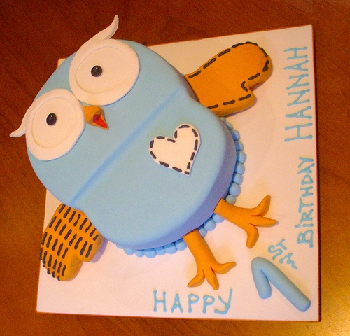 Hoot Cake for daycare