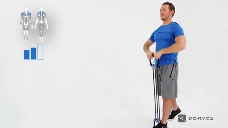 Exercice trapèze - Expander - Exercice 8 - Domyos
