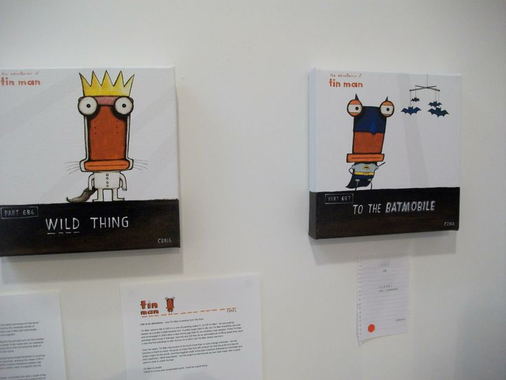Tin Man originals by Tony Cribb