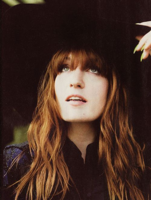 Florence Welch ♥ I ❤️ her and her beautiful hair/style