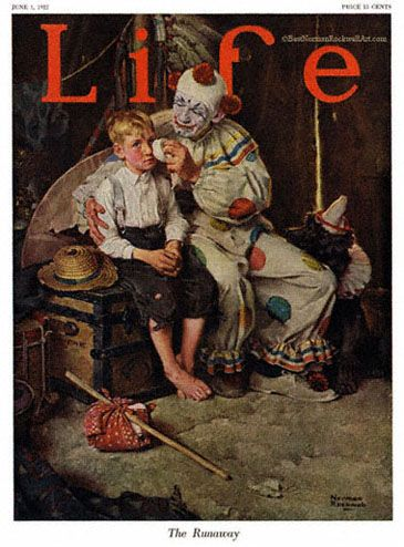 norman rockwell paintings | http://www.best-norman-rockwell-art.com/…the runaway