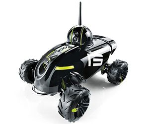 ★App-Controlled Wireless Spy Vehicle★Tagged in: #gadgets, #gifts for #kids, #rc, #camera, #toys