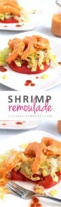 Shrimp Remoulade | Homemade shrimp remoulade is easier than you might think! This New Orleans-style recipe has an easy homemade remoulade sauce and needs only a few basic ingredients. Ready in less than 30 minutes!