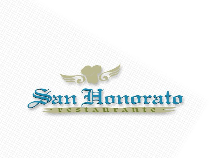 Logotipo Para San Honorato Restaurant