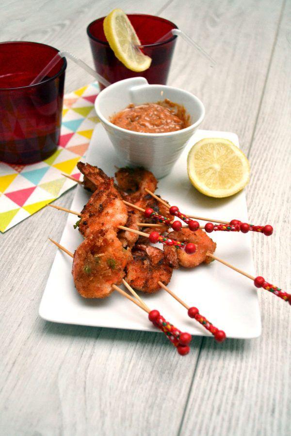 Crevettes panées piquantes