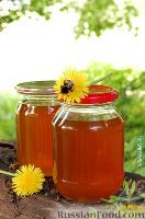 Варенье из одуванчиков с апельсинами и лимонным соком-по вкусу оно похоже на мед и очень полезно .
