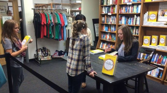 Chelsea Clinton's book signing draws fans of all ages | TheHill