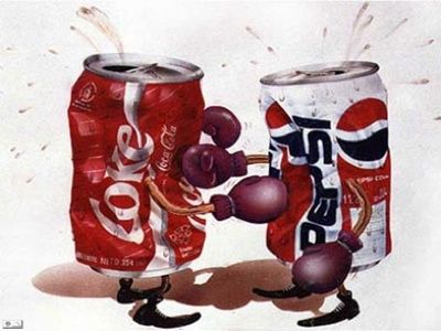 My dad had us do the Coke vs. Pepsi blind test when we were younger.   Almost everyone picked Pepsi.