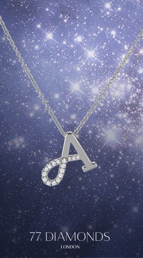 #Diamonds in the #sky with our A #Monologue #Necklace.