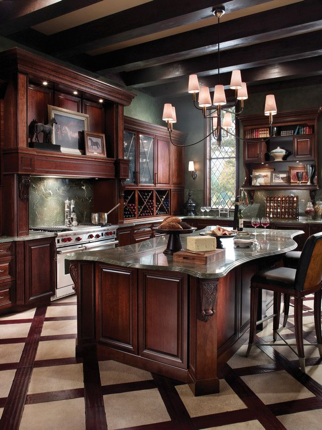 223 best kitchen floors images on pinterest kitchens for Traditional kitchen flooring