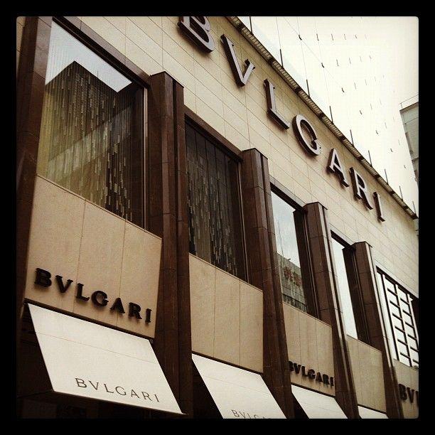 BVLGARI GINZA,Tokyo JAPAN