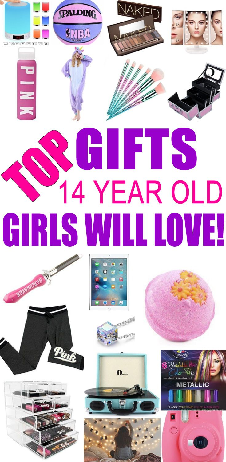 Top Gifts For 14 Year Old Girls Best Gift Suggestions Presents Fourteenth Birthday Or Christmas Find The Ideas A 14th Bday