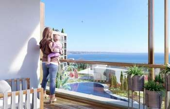 Boutique Sea View Apartments in Istanbul For Sale – Near Completion Turkey Property Close To The Sea In Buyukcekmece