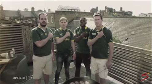 'Our Hearts Are In It' - Super Sport's Rugby World Cup Advert Super Sport's Rugby World Cup promo advert launched recently and we love it!  The video includes ex Boks, celebrities including Trevor Noah & Princess Charlene of Monaco,  expats in London and ordinary South Africans. http://www.thesouthafrican.com/our-hearts-are-in-it-super-sports-rugby-world-cup-advert/