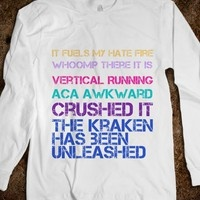 Love this! Fat Amy quotes from Pitch Perfect. Need this shirt pitchperfect