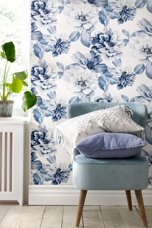 Wall Decor Tapet : Best floral print purple images on