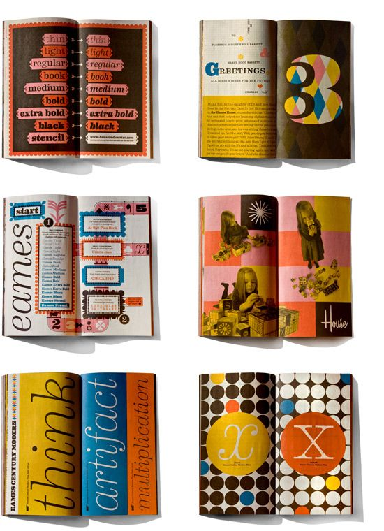 We love the typography and graphic design of House Industries, and that is why they are our pin of the week! #paulfrank #influences #houseindustries