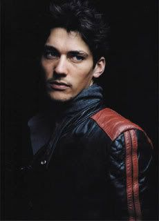 A very young, very beautiful,  David Gandy
