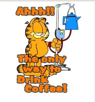 Garfield Coffee Cartoon  #Coffee #Mokk-a #Mokka