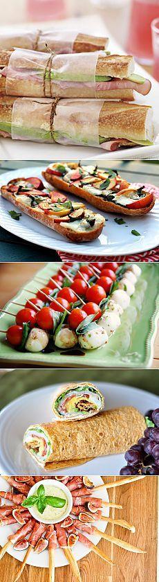 Закуски для пикника: 15 вкусных идей быстрого приготовления