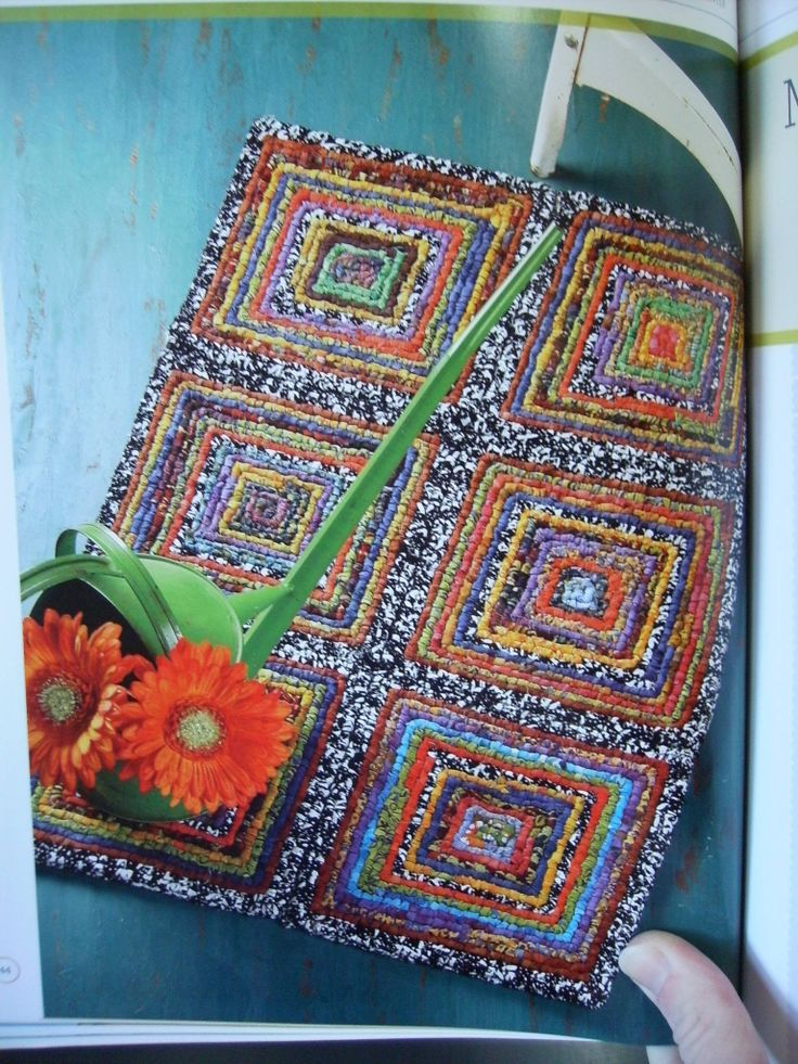 rug hooking with yarn instructions