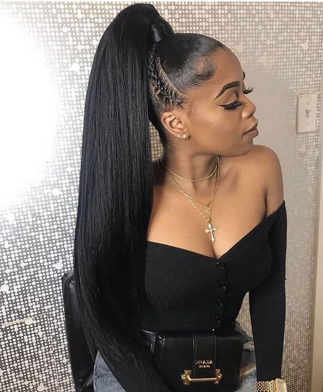 Youmi Human Virgin Hair Pre Plucked 13x6 Lace Front Wig And Full Lace Wig For Black Woman Free Shipping Ym0137 Ponytail Styles Hair Ponytail Styles High Ponytail Hairstyles