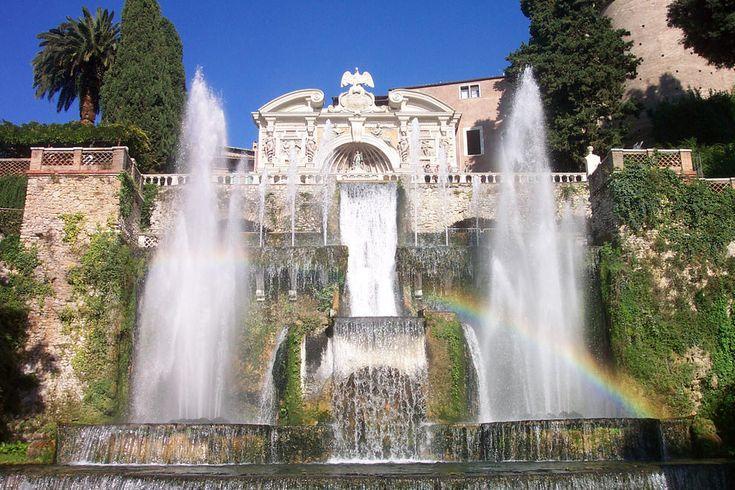 Villa d'Este, Tivoli, Italy  18 Of The World's Most Beautiful Gardens – BoredBug
